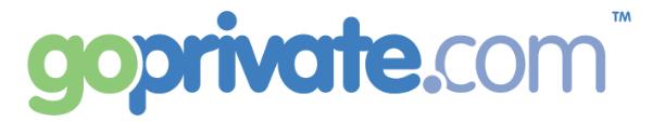 GoPrivate.com Logo